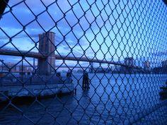Over the Manhattan Bridge we go