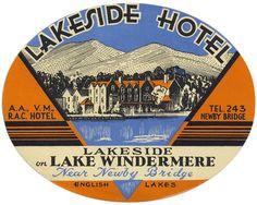 ENGLAND Lake Windermere, Lakeside Hotel