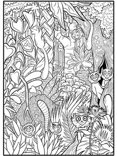 Madagascar - 999 Coloring Pages