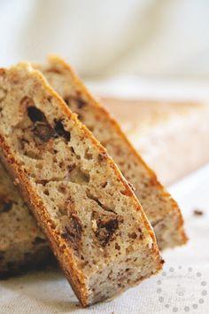 Banana bread, banana loaf o pan de plátano. La receta en el blog! http://conchocolateycanela.blogspot.com.es/2015/03/banana-loaf-banana-bread-o-pan-de.html