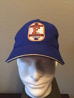 a6ce2eac88e80 NCAA Florida Gators Adjustable Strap Hat Cap Raised Embroidery  Unbranded   FloridaGators