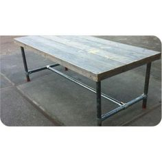 undefined Living Room Accessories, Industrial Table, Steel Furniture, Refurbished Furniture, Interior Design, Home Decor, Diy, Google, Projects