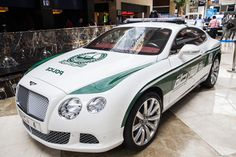 Bentley Continental GT luxury car to join Dubai Police Bentley Arnage, Bentley Mulsanne, Bentley Continental Gt, Emergency Vehicles, Police Cars, Cars Motorcycles, Luxury Cars, Dubai, Fuzz