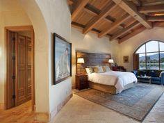 Tuscan-Style Bedroom: Indio, Calif.