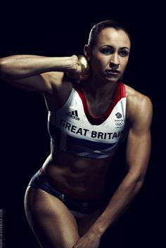 Jessica Ennis, Great Britain heptathlete - photo by Levon Biss in Time magazine
