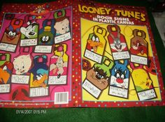 Plastic Canvas Patterns Looney Tunes Door Signs by ClassyStitches