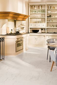 Marble Tiles Create A Great Sense Of Class In Your Kitchen. Read Further  For Marble