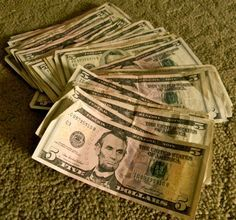 Five dollar savings plan...Every time you find yourself with a five-dollar bill save it...   Seems like a good idea :)