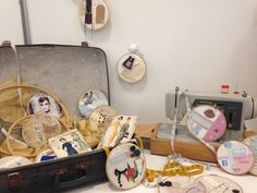 As Textiles; collaborative textiles installation, stitch, applique, collage, mix media, buttons, lace, thread, vintage papers, drawing, sketching- embroidery hoop art. A Level Textiles, Human Condition, Embroidery Hoop Art, Mix Media, Vintage Paper, Sketching, Applique, Collage, Buttons