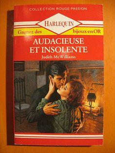 Audacieuse et insolente -Judith McWilliams -Harlequin Rouge Passion N° 260