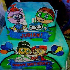 Jurian's birthday cake when he turned 2. My friend Rachel Mellick made it.