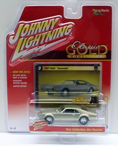 1:64 JOHNNY LIGHTNING CLASSIC GOLD RELEASE 2B - (2016) - 1967 OLDS TORONADO #JohnnyLightning #Oldsmobile