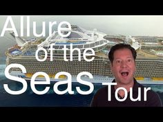 Allure of the Seas Review - Full Walkthrough - Cruise Ship Tour - Royal Caribbean - YouTube