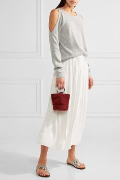 Elizabeth and James | Rae cutout stretch-knit sweater | NET-A-PORTER.COM