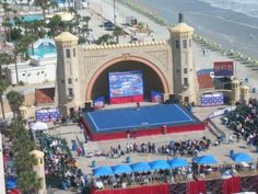 Yep. My hometown, land of cheerleading competitions next to the beach. Oh, and NASCAR.