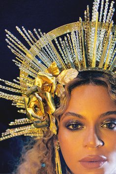 Beyoncé performing at the 59th Annual Grammy Awards
