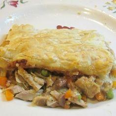 Tasty Turkey Potpie