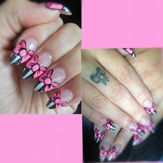 My 25th birthday nails last year.