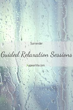 """Watch the new video, Guided Relaxation Sessions - Surrender.  Enjoy as you learn about the topic of """"Surrender"""" while you release the negative energies in your spirit. Let go of all the negative emotions and thoughts, embrace surrender, and feel free from everything that is weighing you down. Learn about the path of least resistance to experience a life full of uplifting possibilities. #guidedrelaxationsessions #surrender #selfcare #selflove #love #wellness #guidance #loveyourself #mentalhealth Relaxation Scripts, Guided Relaxation, Meditation For Beginners, Motivational Speeches, Body Hacks, Meditation Quotes, Care Quotes, Negative Emotions, Famous Quotes"""