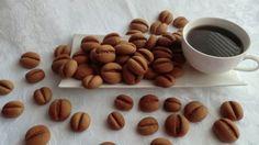 Sušienky kávové zrná