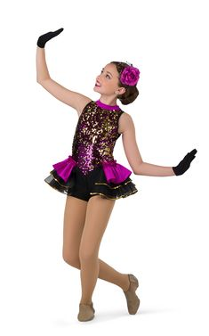 Details about  /Dance Costume XS or Small Child Purple or Pink Ballet Tutu Sequin Competition