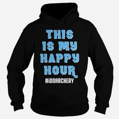 This is my happy hourDo Archery Order HERE ==> https://www.sunfrog.com/Sports/This-is-my-happy-hour-Do-Archery-Hoodie-Black.html?53624 Please tag & share with your friends who would love it  #jeepsafari #xmasgifts #superbowl
