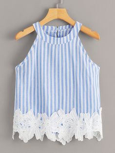 Kids Outfits, Cute Outfits, Plus Size Tank Tops, Kids Fashion, Fashion Outfits, Applique Fabric, Vacation Dresses, Cami Tops, Top Pattern