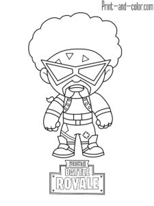 72 Best FORTNITE COLORING PAGES images in 2019 ...