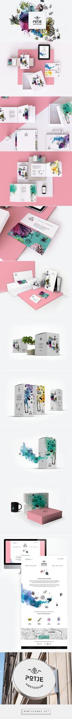 Potje Amsterdam Branding on Behance | Fivestar Branding – Design and Branding Agency & Inspiration Gallery