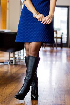 Black Thigh Boots, Knee High Boots, Tall Boots, High Heels, Stiletto Boots, Heeled Boots, Skirts With Boots, Professional Wear, Colors
