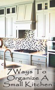 7 Ways to organize a small kitchen