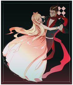 Sonia Nevermind and Gundam Tanaka.