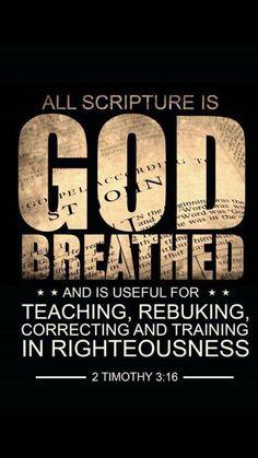 2 Timothy 3:16 #scriptures #bibleverses #bible #WordOfGod