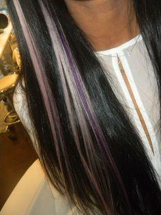 Peekaboo Lavender Highlights
