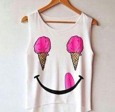 :) #food  ice cream -  #cute,  #fashion