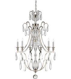 Visual Comfort CHC1555PN-CG E.F. Chapman Penhurst 6 Light 26  inch PolishedWidth: 25.75 in. Height: 37.75 in.