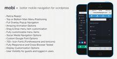 Better Wordpress Mobile Navigation Menu Plugin
