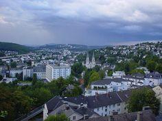 Siegen Geisweid with Kreuztal in background