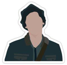"""Jughead Jones III no writing"" Stickers by frnknsteinn Homemade Stickers, Diy Stickers, Printable Stickers, Face Stickers, Phone Stickers, Archie Comics Riverdale, Tumblr Stickers, Aesthetic Stickers, Aesthetic Photo"