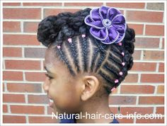 natural girls hairstyles - Google Search
