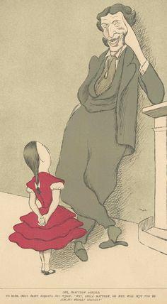A cartoon by Max Beerbohm