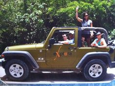 Jeep tour in Mexico.