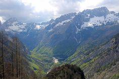 Parc national du Triglav, col de Vrsic