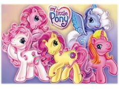"""The """"old"""" My Little Ponies! Still have these x)"""