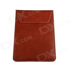 "JZR-048 Universal Protective PU Leather Sleeve Bag for 10"" Tablet PC - Brown Price: $7.99"