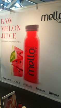 Mello melon juice Sparkling Ice, Cold Drinks, Juice, Water Bottle, Cafes, Cool Drinks, Juicing, Water Flask, Frozen Drinks