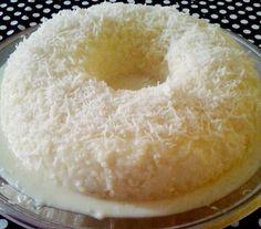 AI GENTE, como este bolo de tapioca cremoso é gostoso!!! E ó, ele nem vai ao forno!! - Aprenda a preparar essa maravilhosa receita de Bolo de tapioca cremoso (não vai ao forno)