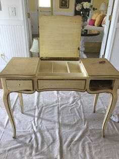 You have to see the remake of this vanity into a bar table. #DIY #furniture http://www.hometalk.com/16445566/creating-a-bar-table?se=fol_new-20160515-1&date=20160515&slg=11c9f43286ed48169384b66220dc2e42-3703629