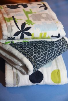 Food, Laughter and Happily Ever After: DIY Burp Cloths