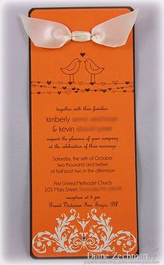 wedding invite by cookiestamper - Cards and Paper Crafts at Splitcoaststampers